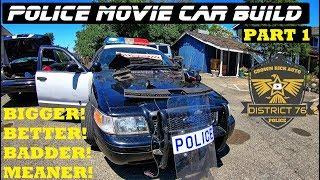 Police Movie Car Build! | Crown Rick Auto Part 1