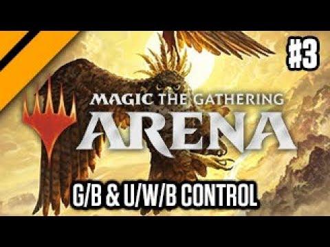 MTG: Arena M19 Quick Drafts - Double G/B & U/W/B Control P3 (sponsored)