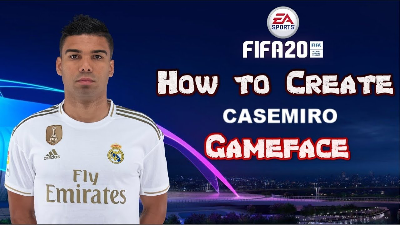 FIFA 20 - How to Create Casemiro - Pro Clubs