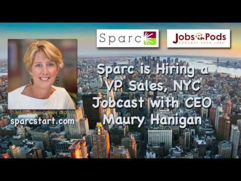 Sparc is Hiring a VP of Sales in NYC!
