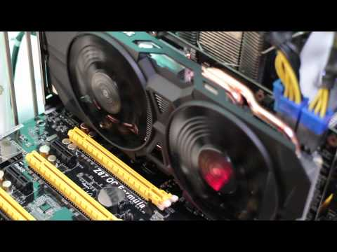 GIGABYTE GeForce GTX 960 WINDFORCE 2X Gaming (GV-N960WF2OC-2GD)