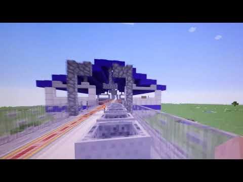Minecraft LRT 1 Roosevelt To Baclaran (Part 1)