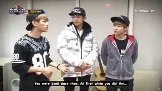 [ENG SUB] EXO and Park Jae Jung CUT in Superstar K5