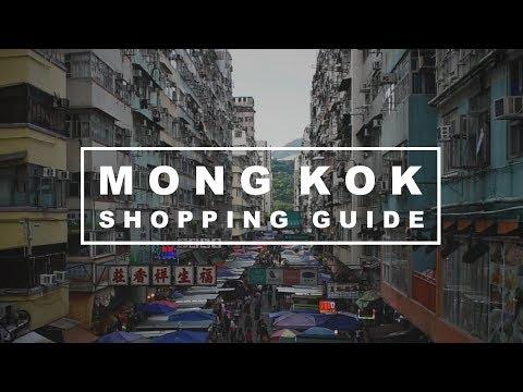 Shopping in MONG KOK, Hong Kong - Ladies' Market, Sneaker Street & Shopping Malls