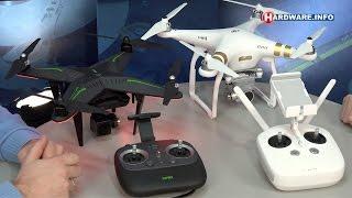 DJI Phantom 3 en Xiro Xplorer drones review- Hardware.Info TV (Dutch)(Drones worden steeds populairder, vooral om video-opnames mee te maken. Wij testten twee drones uit het middensegment, de Xiro Xplorer V en de DJI ..., 2015-11-27T06:00:00.000Z)