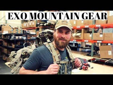 New Pack at Exo Mountain Gear | New Mexico Hunt Trip Begins