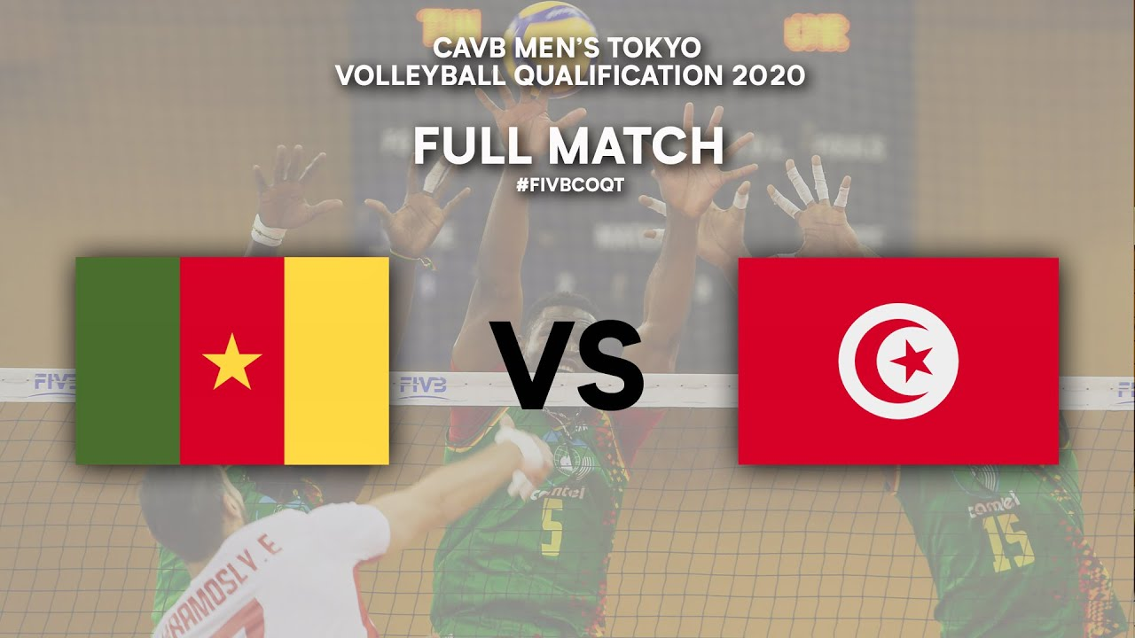 CMR vs. TUN - Full Match | CAVB Men's Tokyo Volleyball Qualification 2020