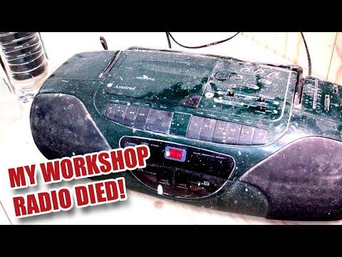 Death of My Workshop Radio! - Gosforth...