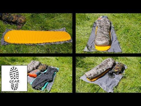 """Zeltunterlagen """"Footprints"""" von Geertop"""