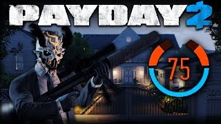 Payday 2 - One Down Solo Stealth - 75 Detection Risk - #8 Hoxton Revenge