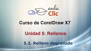 Curso de CorelDraw X7. 5.2. Relleno degradado.