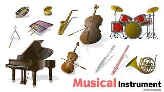 악기이름 그림학습 - Musical Instrument