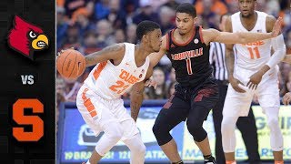 Louisville vs. Syracuse Basketball Highlights (2018-19)