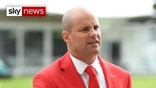 Andrew Strauss on his wife's foundation tribute at Lord's