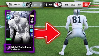i spent 3 MILLION COINS on 99 OVERALL NIGHT TRAIN LANE...IT WAS WORTH EVERY COIN!