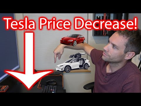 Tesla Price Decrease!