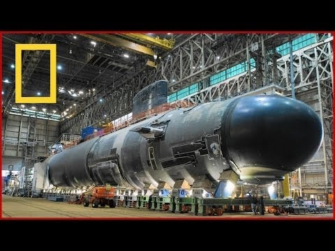 BBC Documentary - Super Sub USS Submarines Ultimate Structur