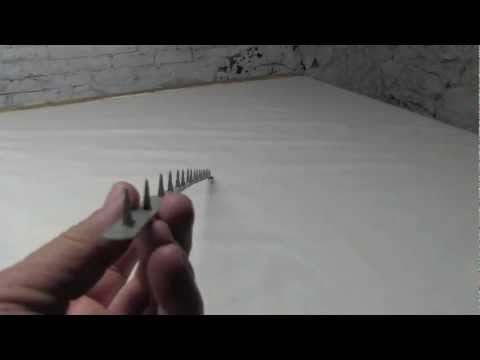 Metal Tack Strip Youtube