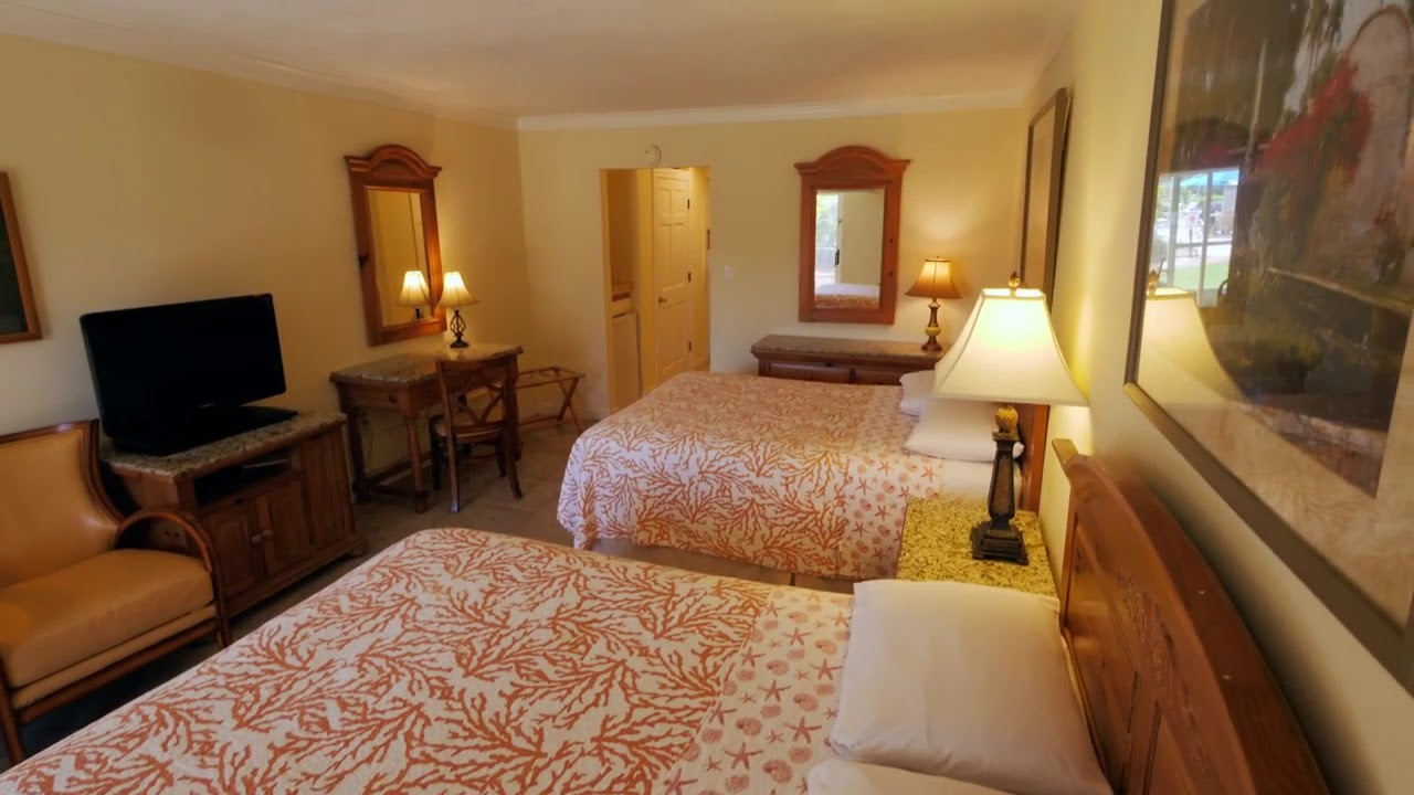West Wind Inn Accommodations | Gulf Front Guest Room - YouTube