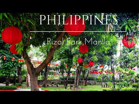 The Best Park In Manilla - Exploring Rizal Park, Philippines