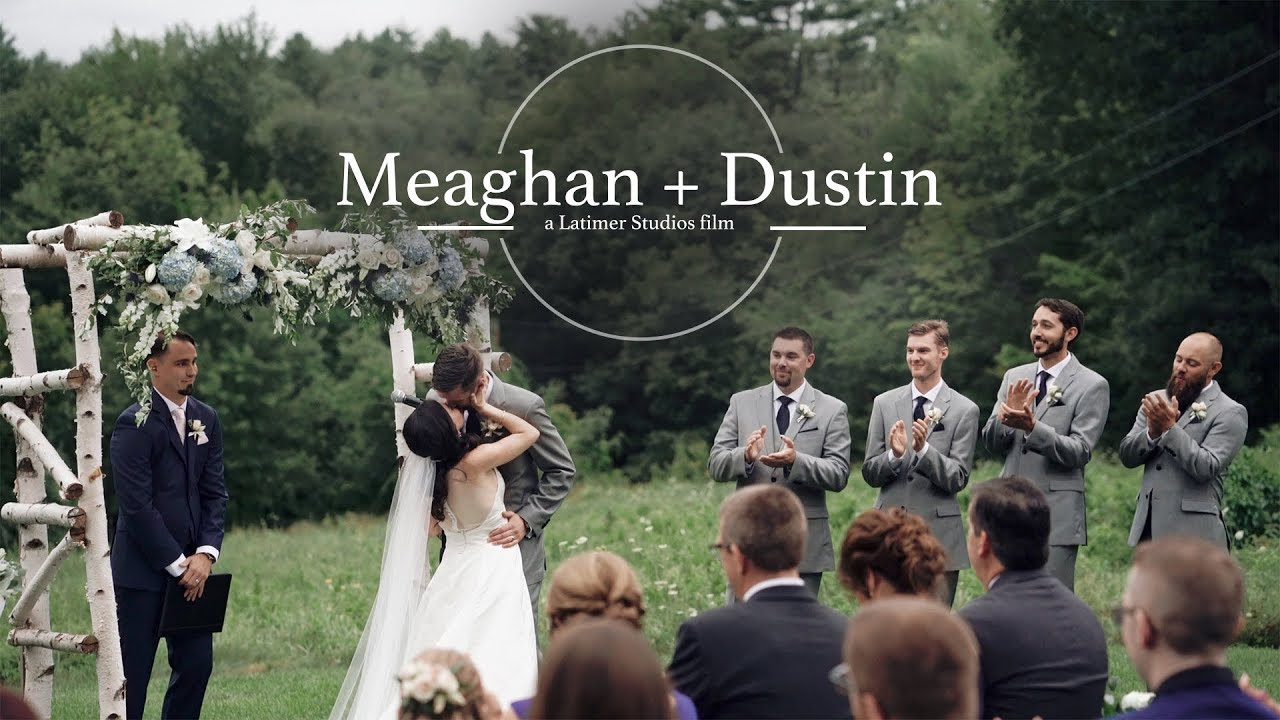 Bride And Groom Have A Way With Words // New Hampshire Outdoor Mountain  Wedding