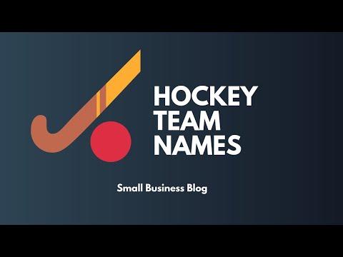 Unique Hockey Team Names