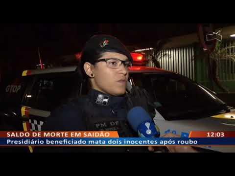 DF ALERTA - Bandido liberado em saidão rouba, sequestra e mata