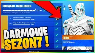 NEW FREE SKIN IN FORTNITE SEASON 7! Unlocked?!