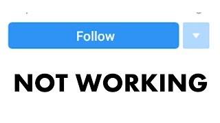 Instagram follow button not working bug