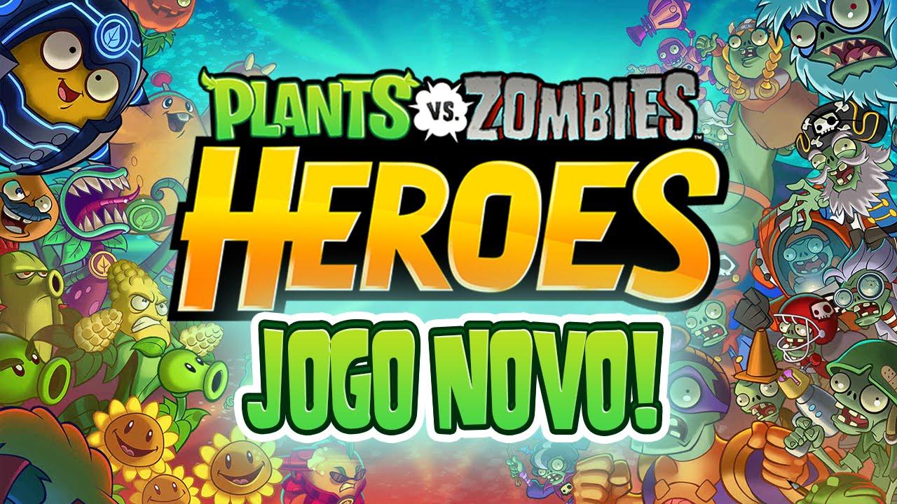 pvz heroes jogo novo ios android plants vs zombies heroes
