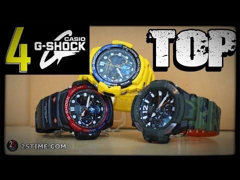 4 CASIO G-Shock  Watches For Men To Buy