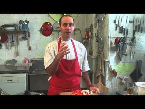 """תכנית בישול בשידור חי מספר 4 מבית הספר לאומנות הבישול """"מבשלים דרך חיים"""