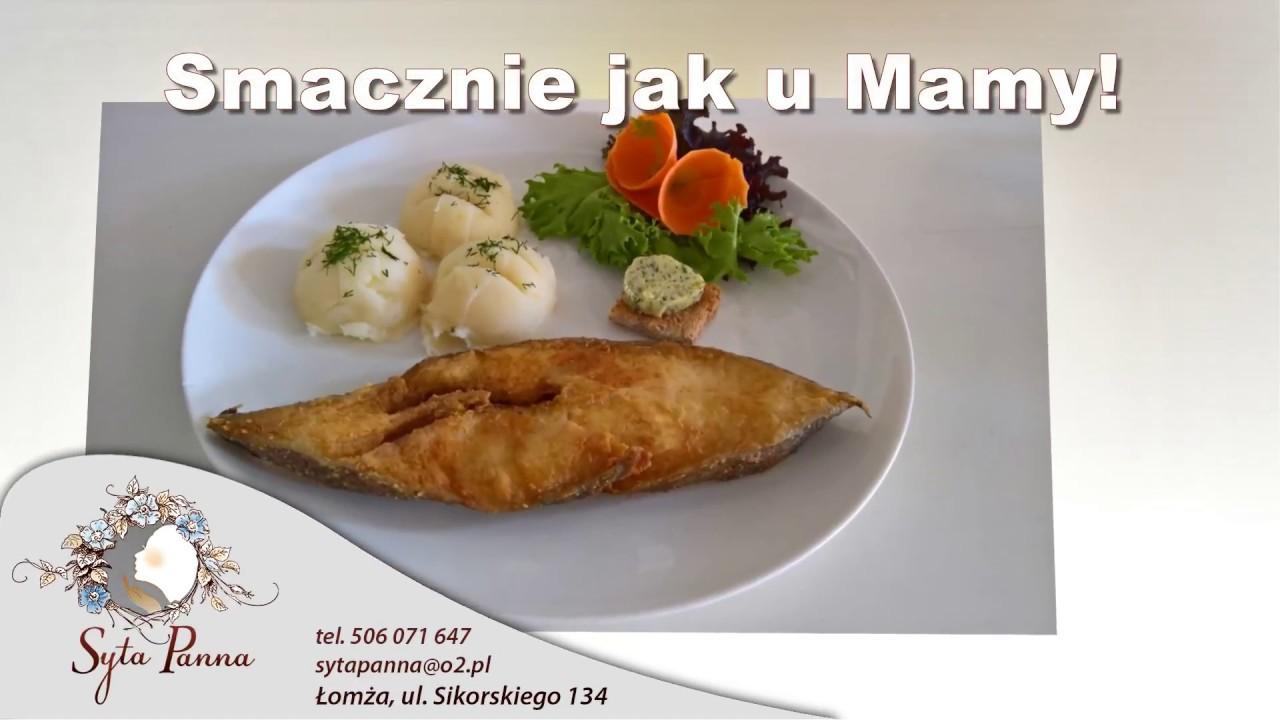 Kuchnia Polska Ciasta łomża Restauracja Syta Panna