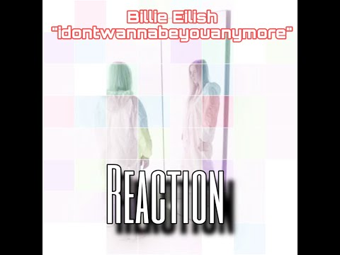 Billie Eilish - Idontwannabeyouanymore (Vertical Video) | REACTION By #MacTheReactor