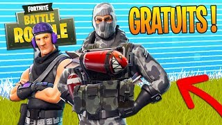 HAVE 4 SKINS FOR FREE on Fortnite Battle Royale!