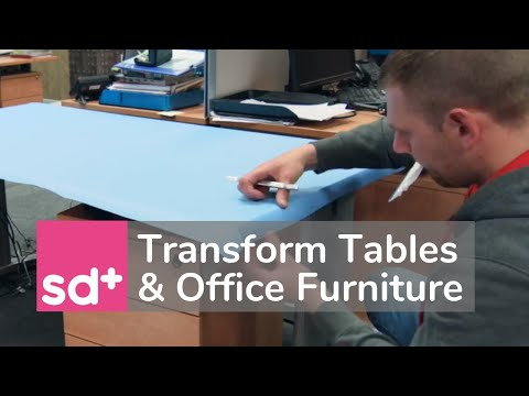 Transform Tables And Office Furniture - With Architectural Design Films