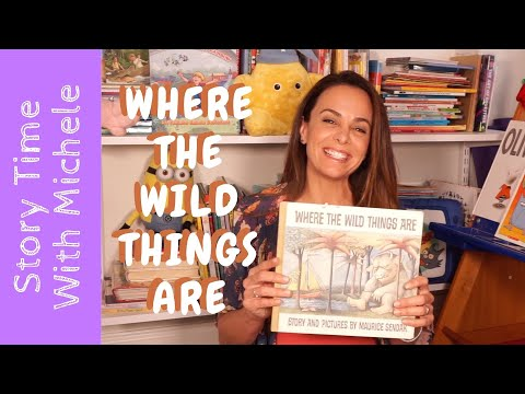 """Story Time With Michele! """"Where The Wild Things Are"""" Read Aloud For Kids"""