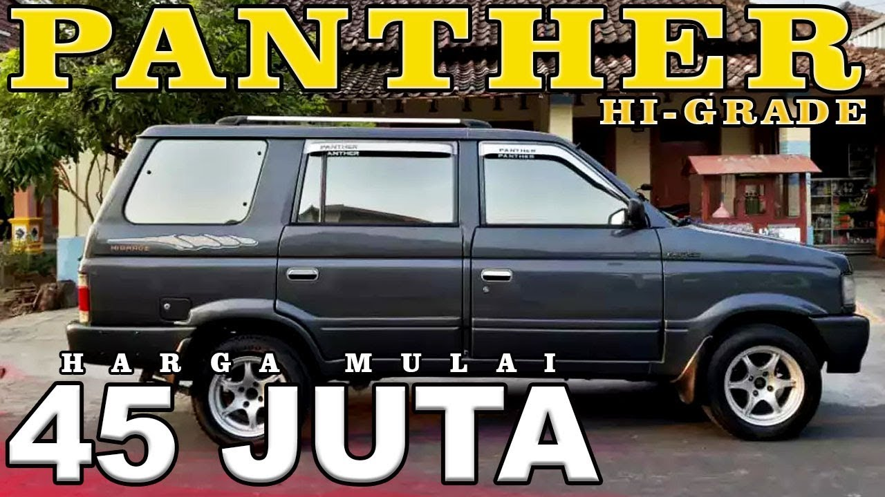 Info Harga Mobil Bekas Isuzu Panther Kotak Higrade 1995 1999 Youtube