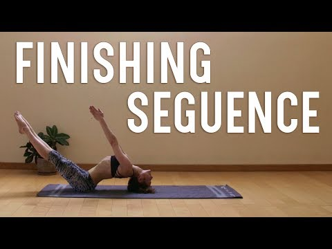 Finishing Sequence | Ashtanga Yoga Primary Series | Self Practice
