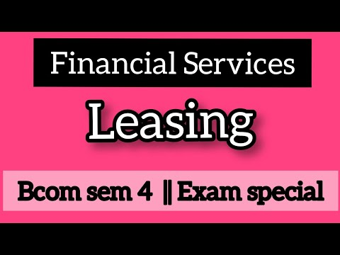 Leasing || Financial Services || Commerce Companion