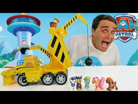 paw-patrol-ultimate-construction-truck-!-  -toy-review-  -konas2002