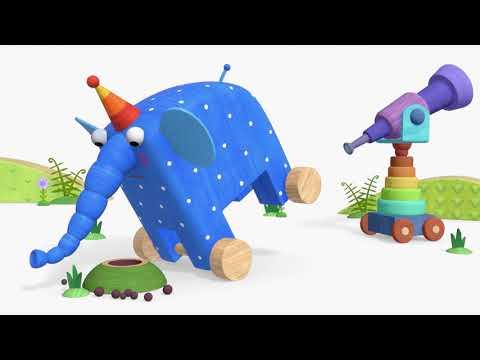 Деревяшки - Занятия и игры на природе и дома!    Мультфильмы для детей