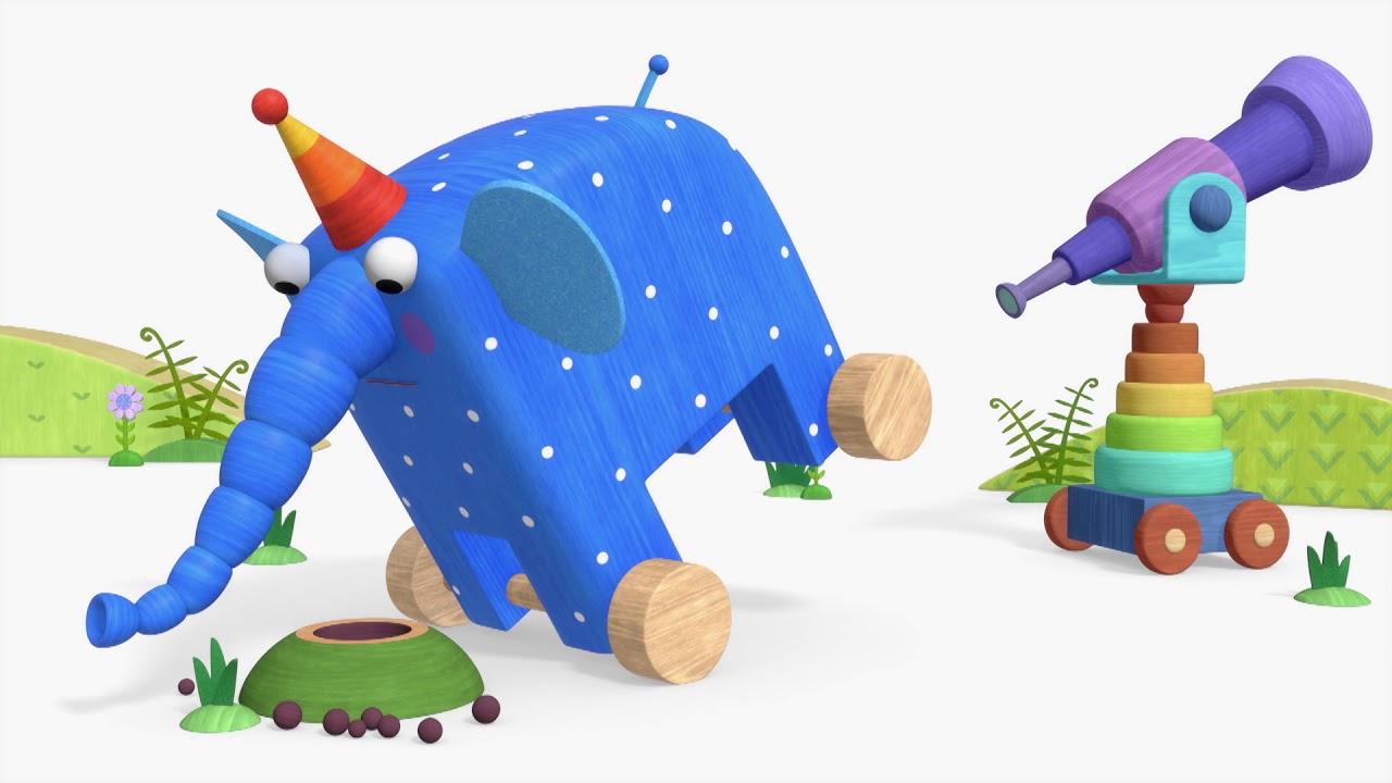 Деревяшки - Занятия и игры на природе и дома!  | Мультфильмы для детей