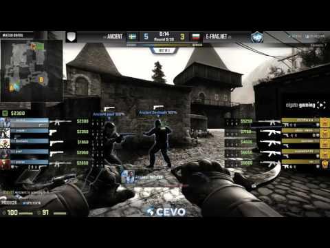 Ancient vs E-Frag.net - Game 2 - MLG CS:GO LCQ (EU/CIS)