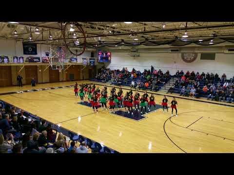2017 McDonald High School Cheerleader and Devilette Christmas Routine