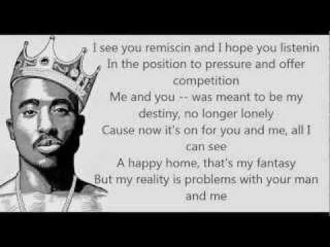 TUPAC - CAN U GET AWAY LYRICS