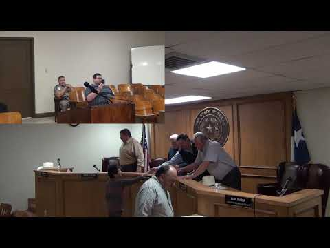 Starr County Commissioners Court 12-27-2018