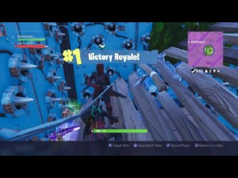 Fortnite_win with a good friend of mine trap win but turn down the volume