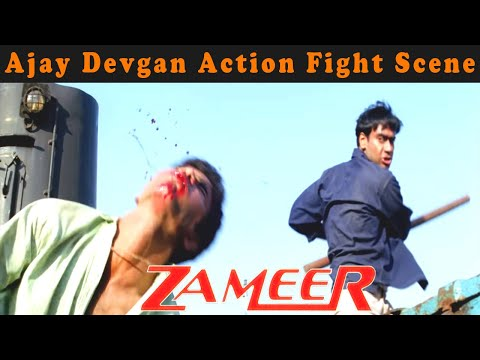 Ajay Devgan Action Fight  From Zameer: The Fire Within Movie
