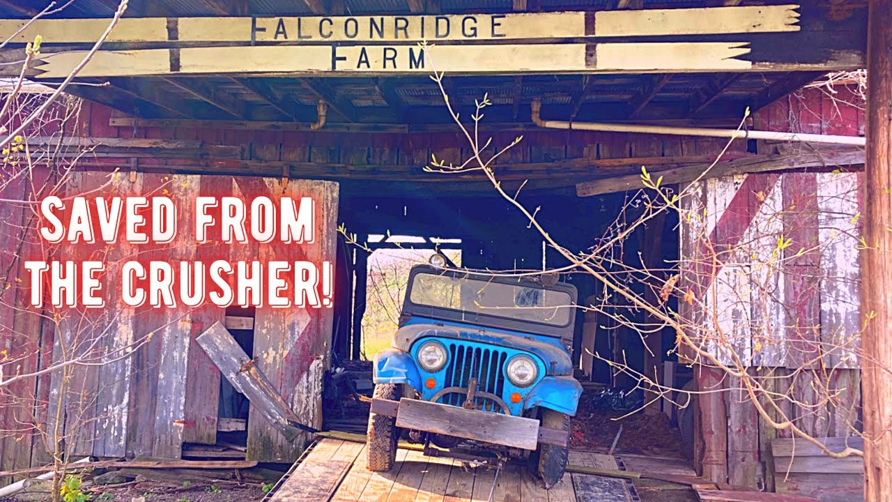 1964 Jeep CJ-5  Sitting in a Barn 30 years, Engine Stuck,  Will it Run?!?